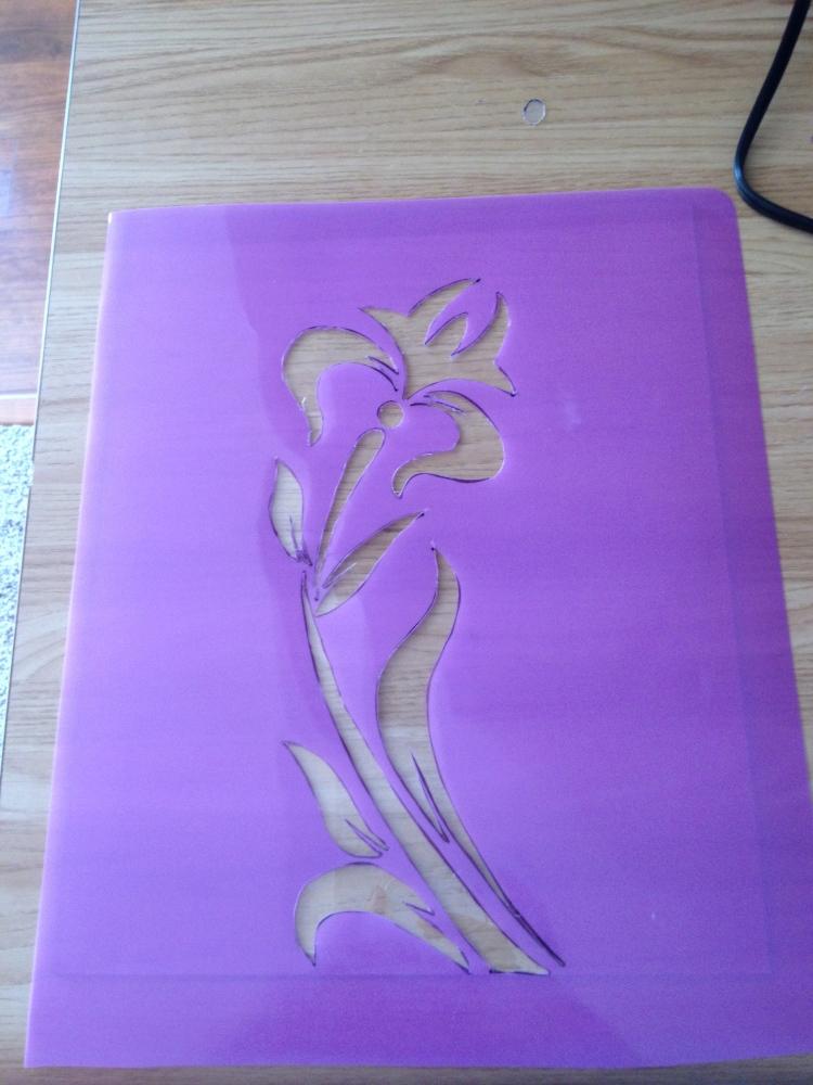 Stencil cutter (2/3)