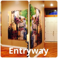 Room Divider Wall Art!!