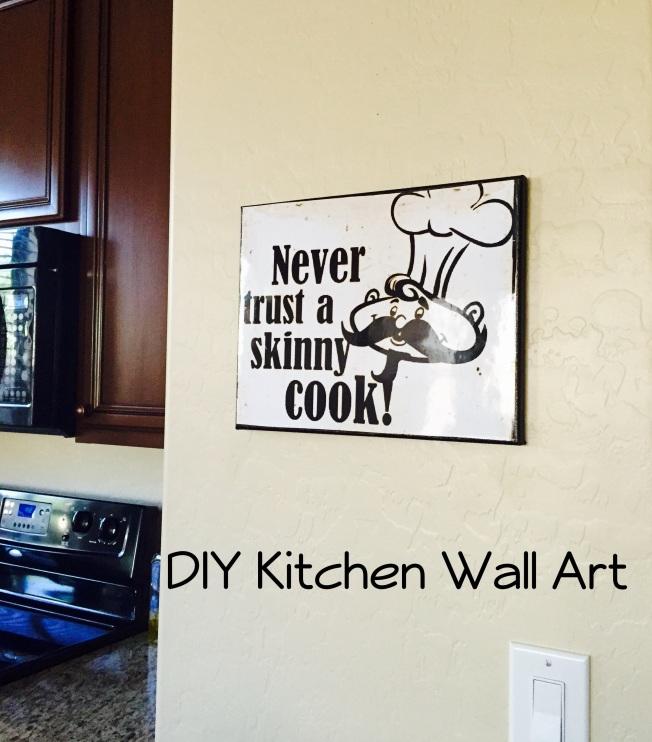 Creative Kitchen Wall Decor: Kitchen Wall Art!