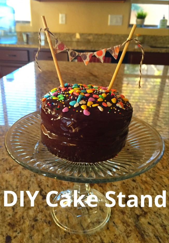 Dollar Store Cake Stand Creative Me